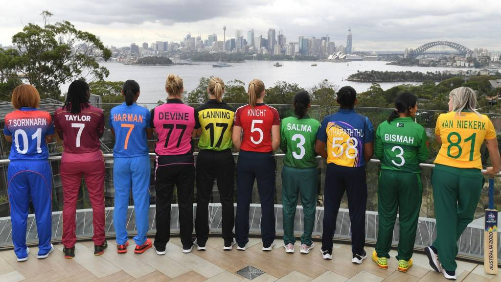 The 10 team captains in Sydney