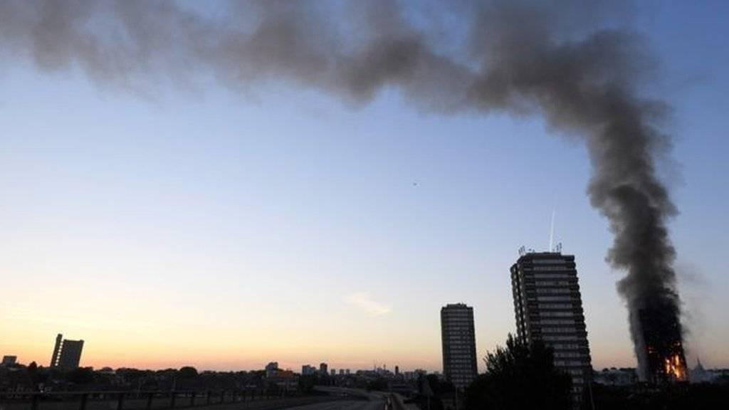 آتش سوزی در لندن