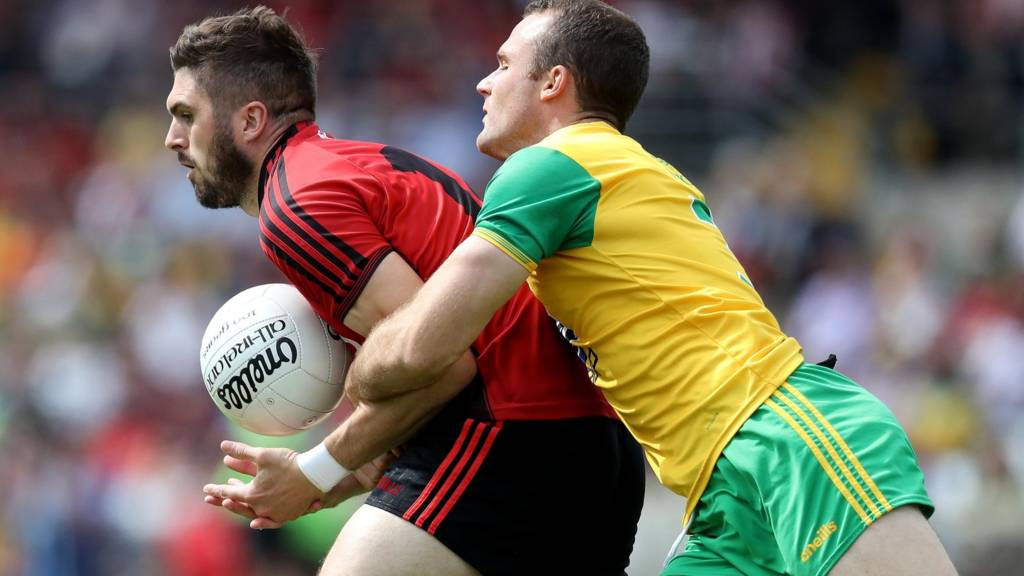 Donegal against Down