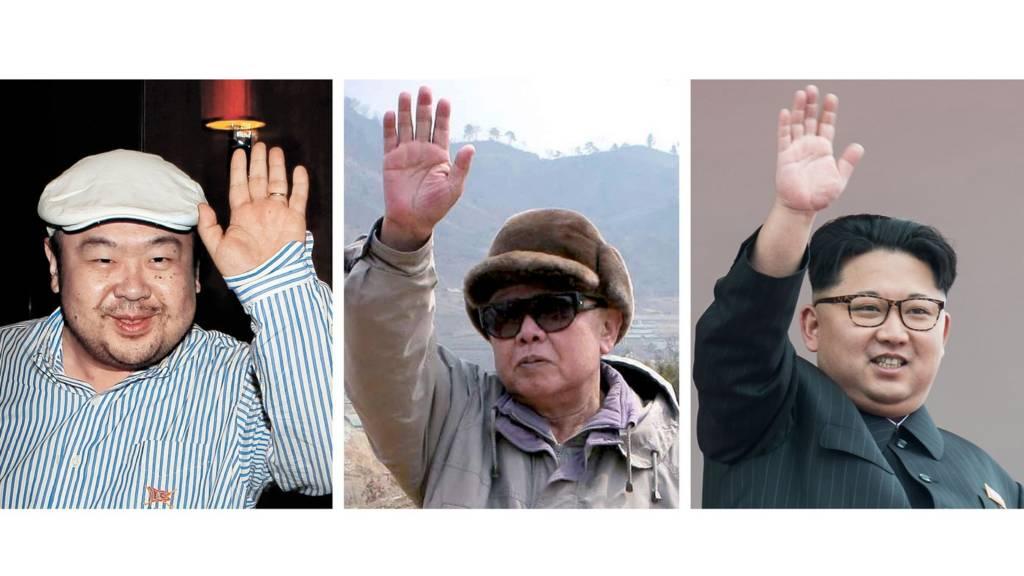 Ba cha con Kim Jong-il
