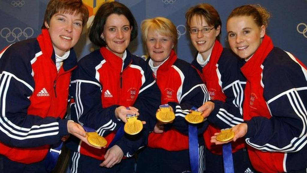 Team GB curlers