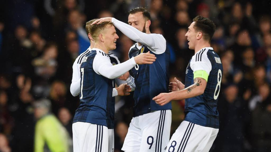 Matt Ritchie fires Scotland in front