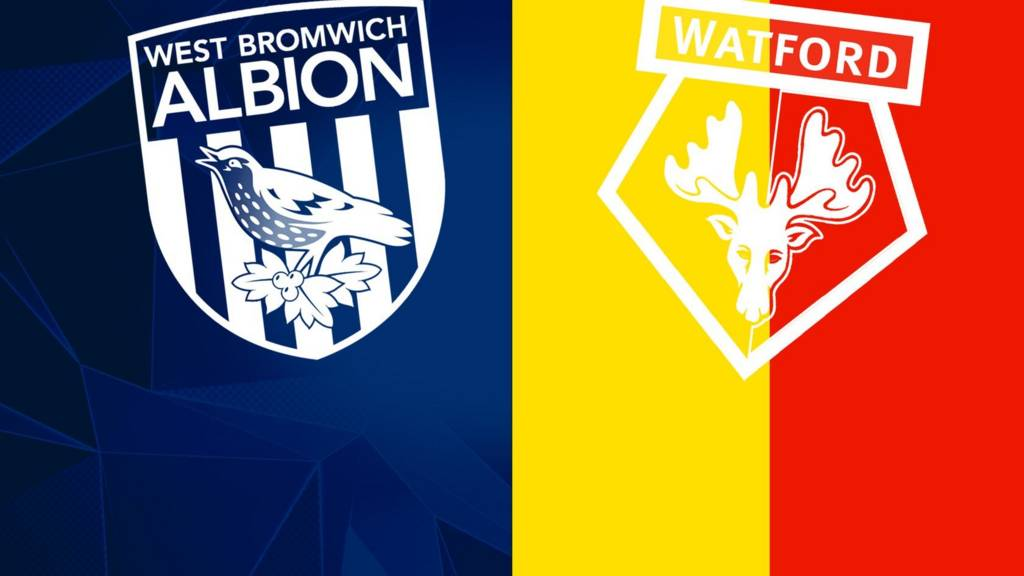 West Bromwich Albion and Watford badges