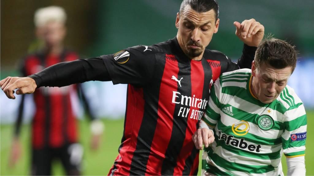 Europa League Celtic 1 3 Ac Milan Reaction As Lennon S Side Lose Opener Live Bbc Sport