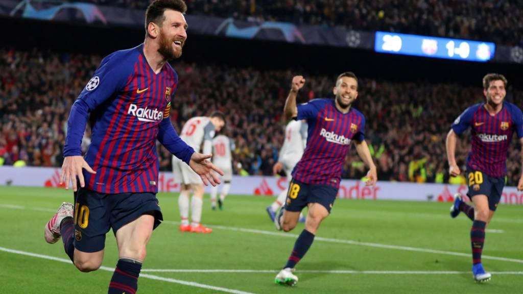 7d0683f13 Barcelona v Liverpool live - Champions League semi-final first-leg ...