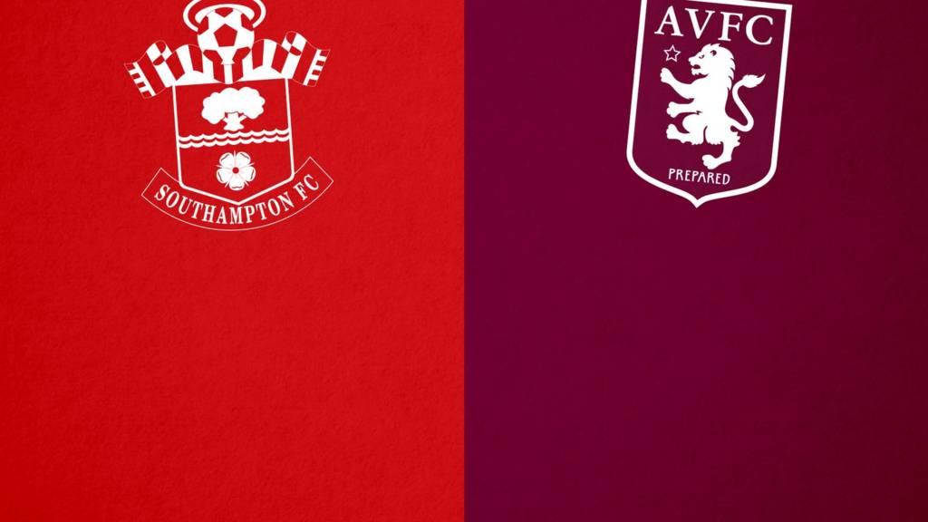Southampton v Aston Villa badge
