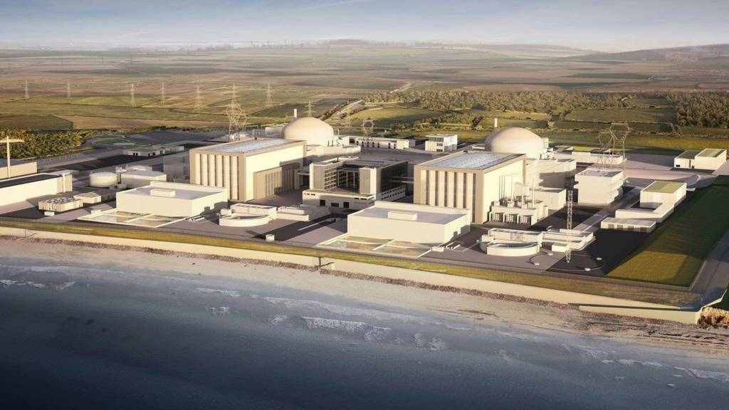 The proposed Hinkley Point C