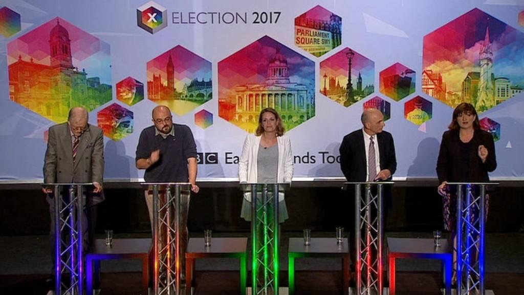 East Midlands election candidates