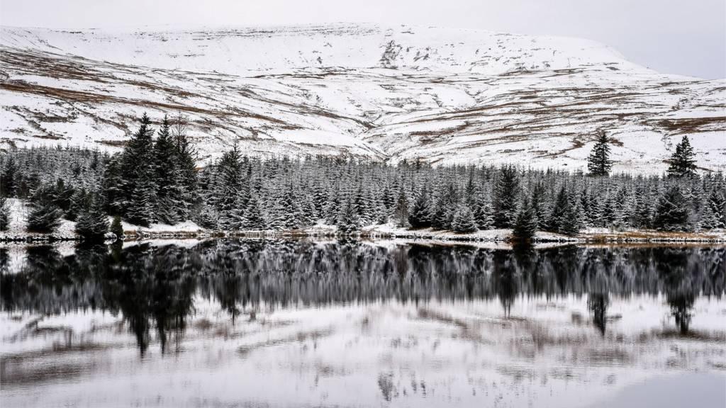 Brecon Beacons snow