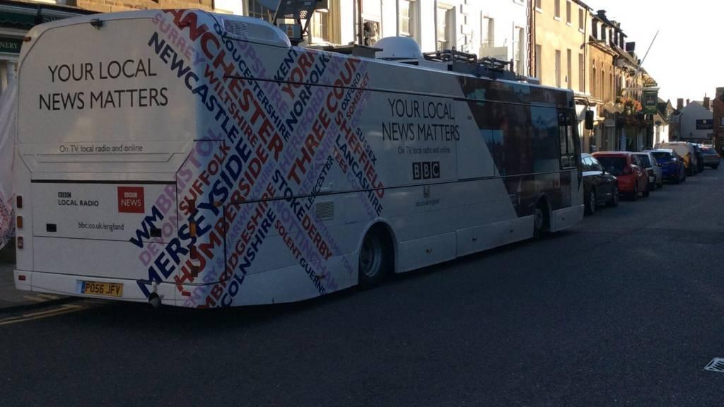 Bus in Uppingham