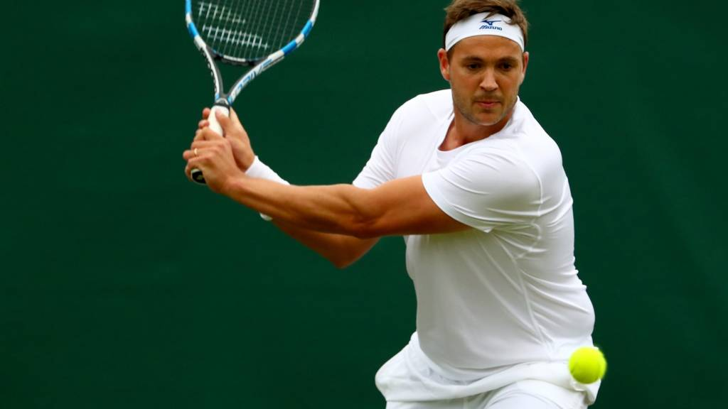 Marcus Willis of Great Britain