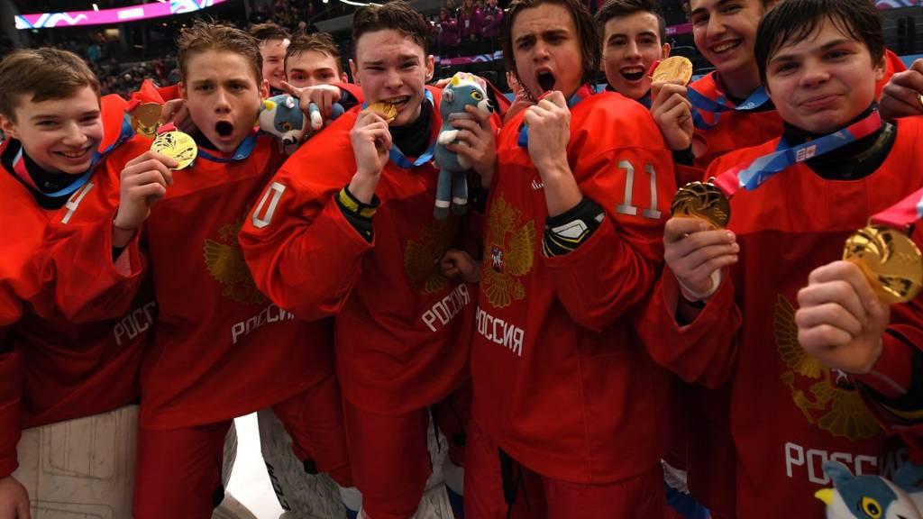 Russian Gold medallists