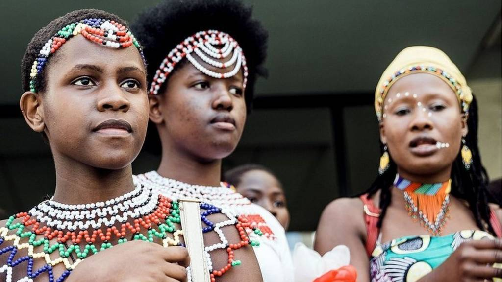 Zulu women at traditional event in Durban, South Africa