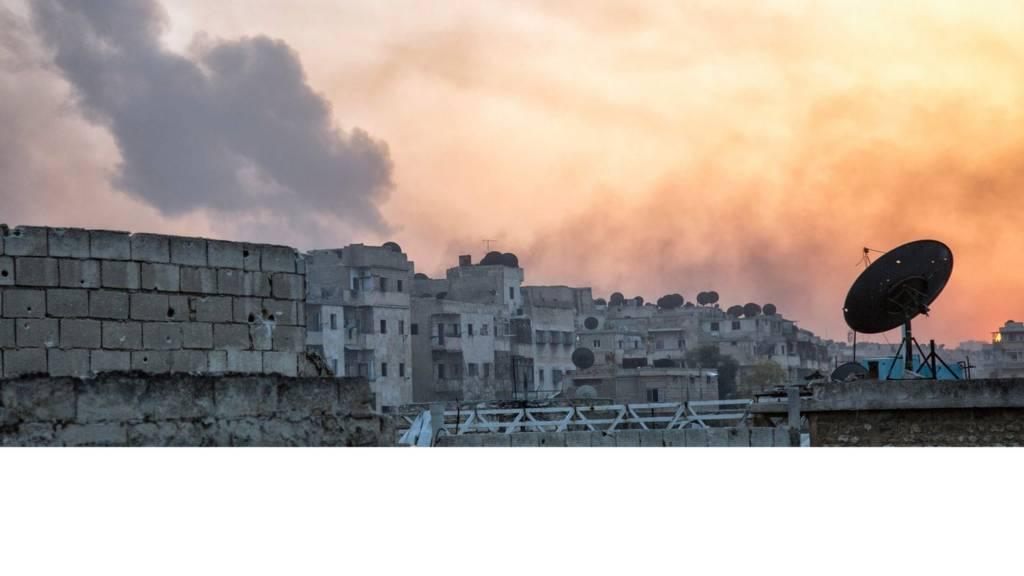 نمای شهر حلب