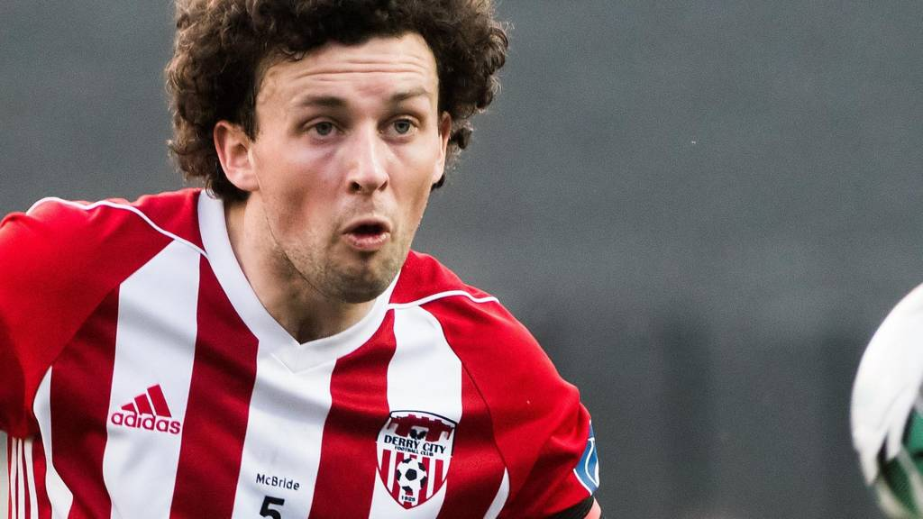 Derry captain Barry McNamee