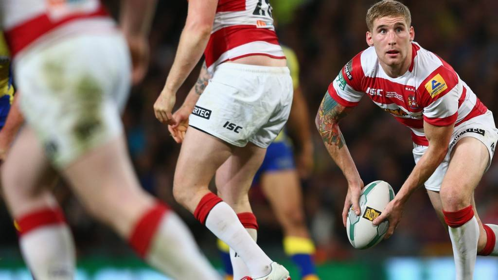 Sam Tomkins for Wigan Warriors
