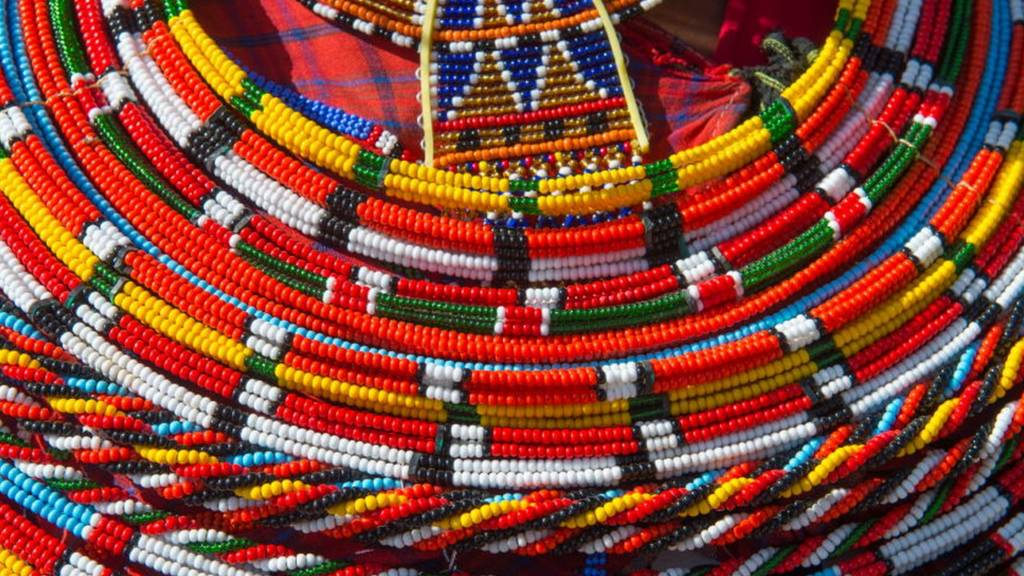 A Sambutu necklace