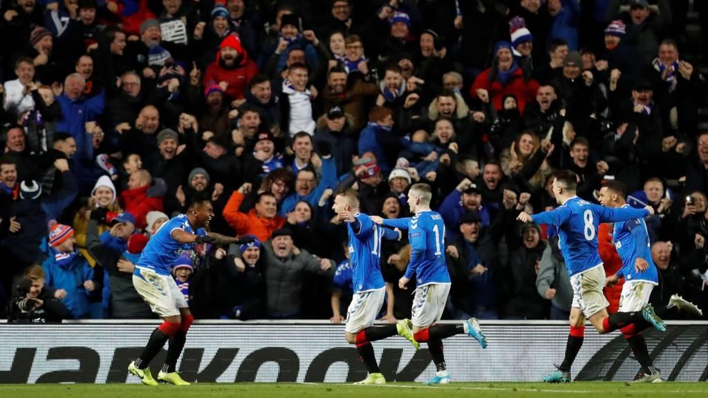 Rangers v Porto