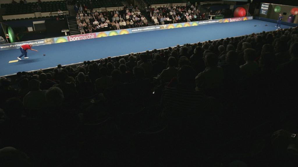 A general view of action at the bowls