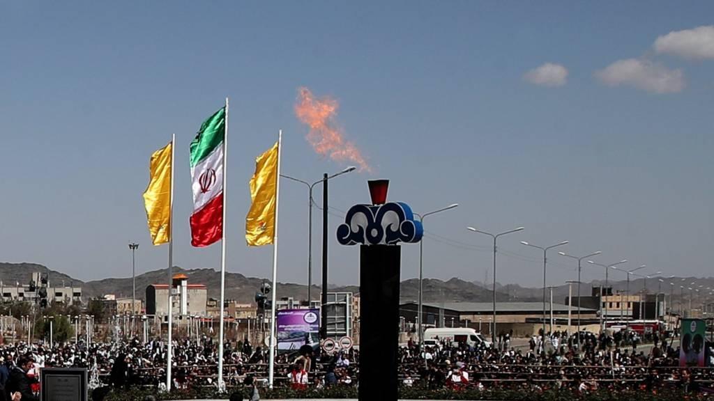 حسن روحانی گازرسانی به زاهدان را افتتاح کرد