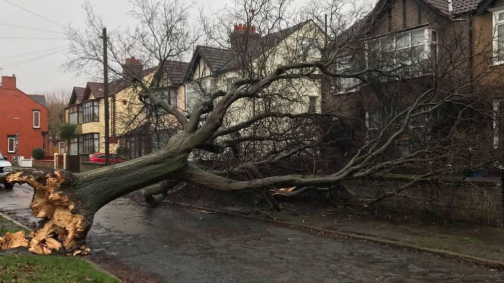 Storm Doris sparks severe weather warning across West Yorkshire