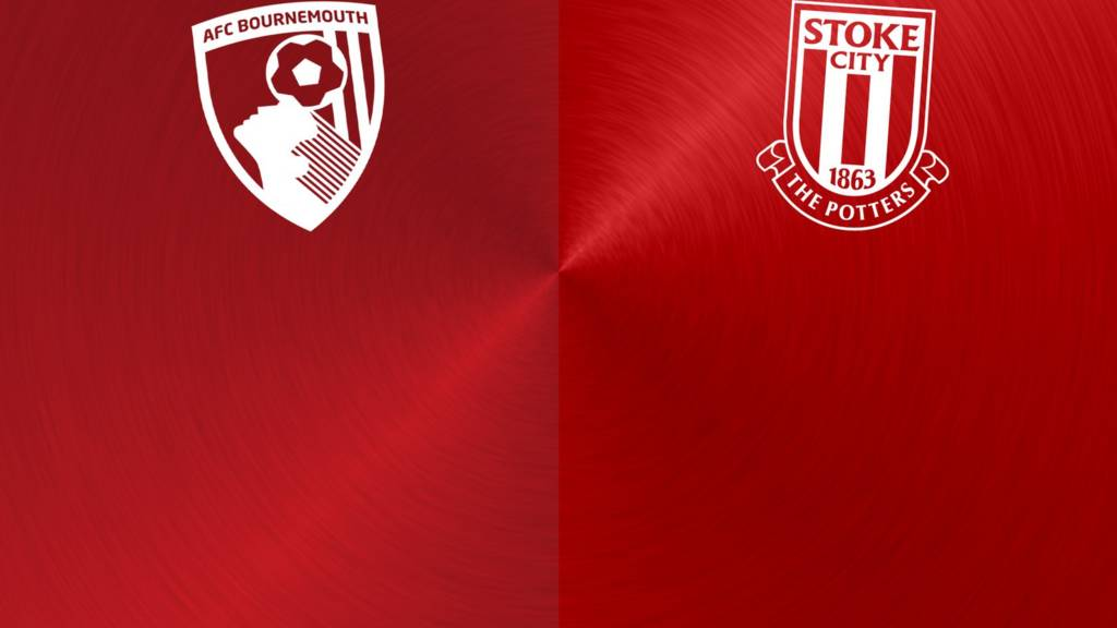 Bournemouth v Stoke badges