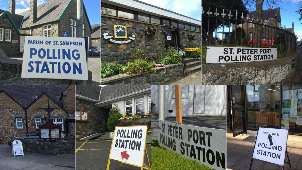 Polling stations for Guernsey Election 2016