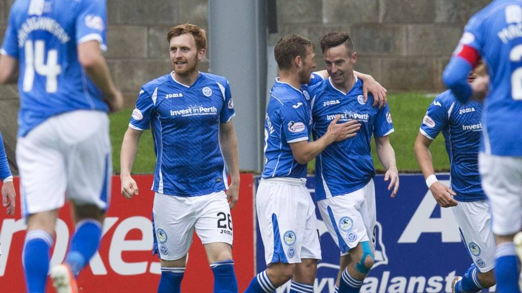St Johnstone are 3-0 up at home to Hamilton Accies