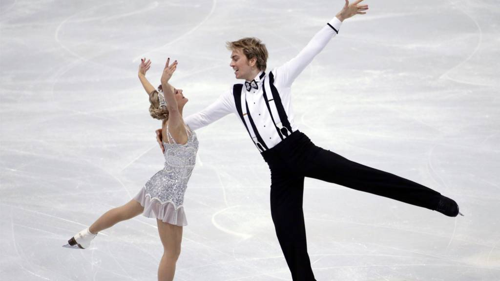 British pair Penny Coomes and Nicholas Buckland