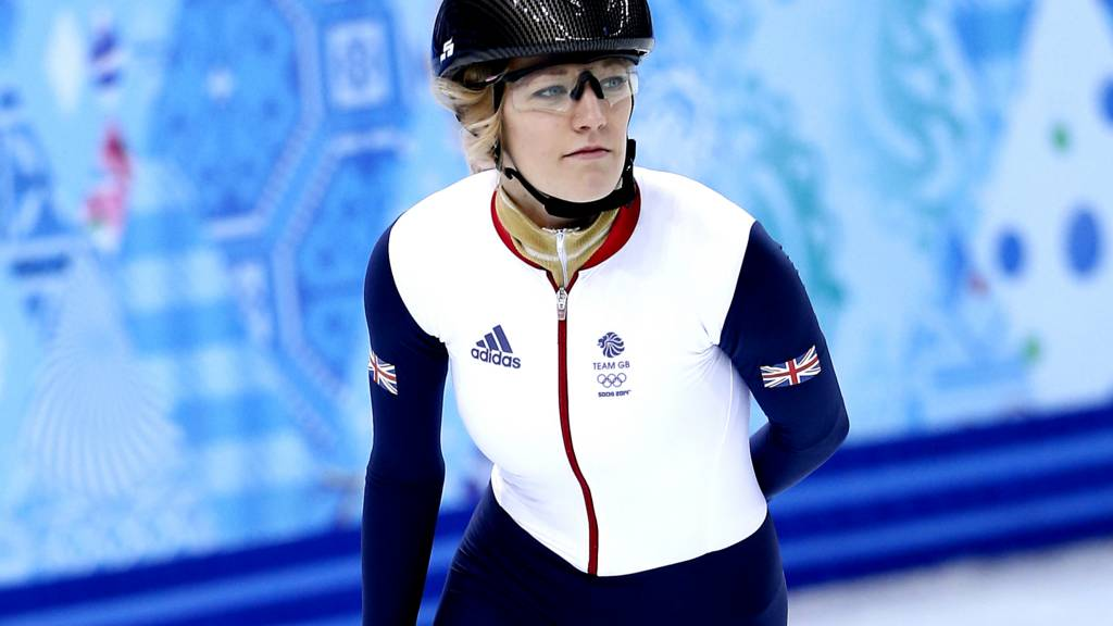 Great Britain's Elise Christie
