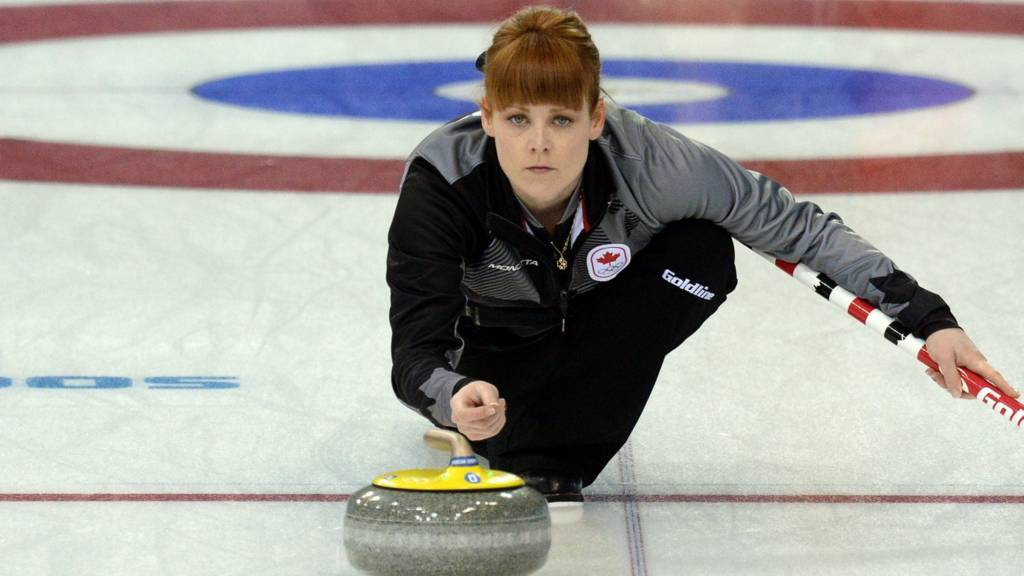 Canada's Dawn McEwan
