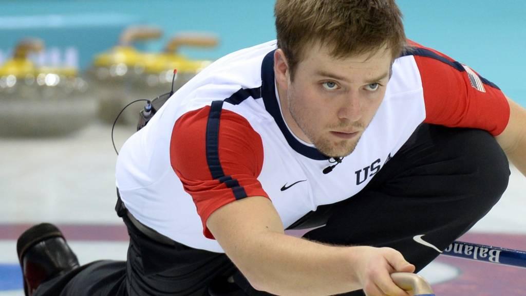 Jared Zezel of the USA