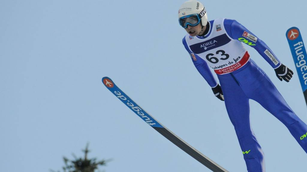 A Nordic combined skier