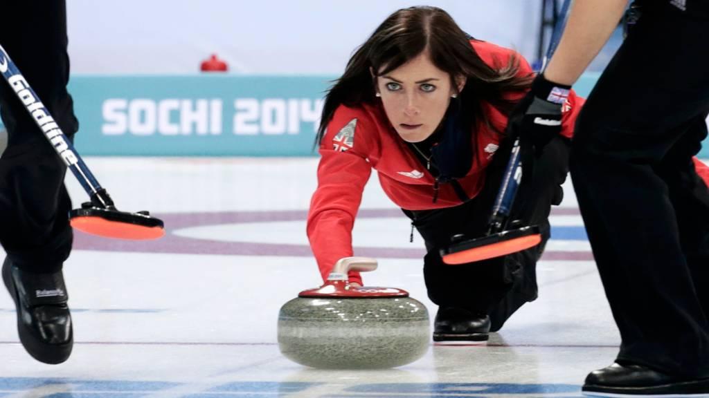 Eve Muirhead of Team GB