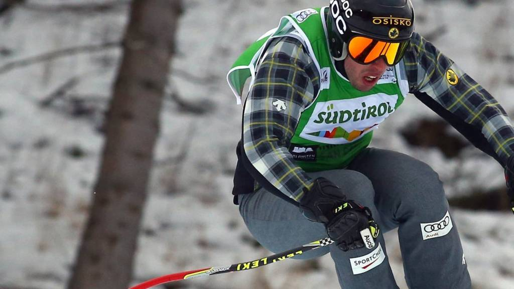 Canada's David Duncan in action during the Ski Cross World Cup