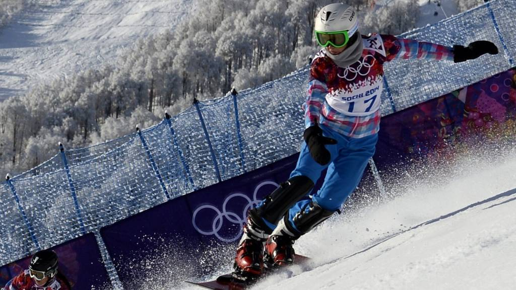 Russian snowboarder Ekaterina Ilyukhina