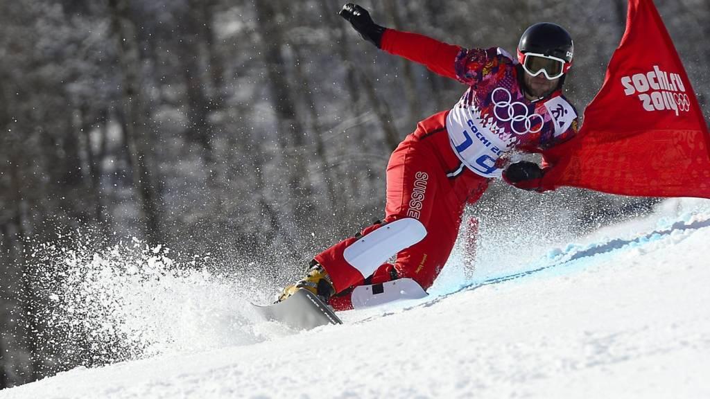 Snowboarder Philipp Schoch