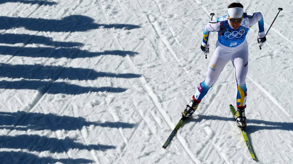 Cross country skier Charlotte Kalla
