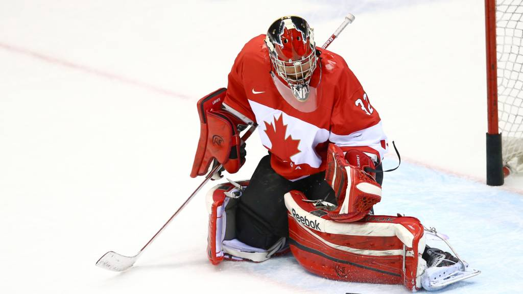 Canadian ice hockey player Charline Labonte