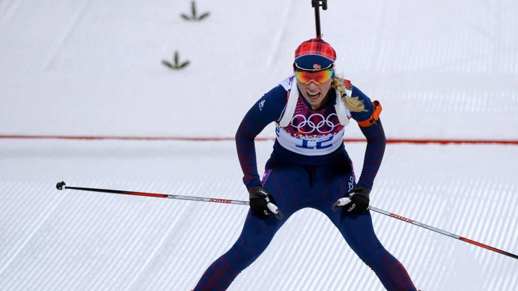 Biathlon competitor Tiril Eckhoff
