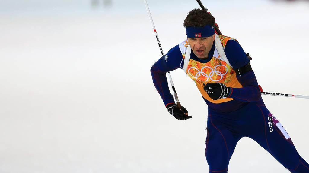 Biathlete Ole Einar Bjoerndalen