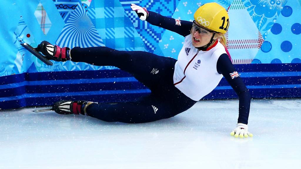 Elise Christie of Team GB