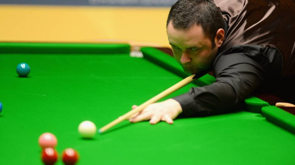 Stephen Maguire at the World Snooker Championships 2013