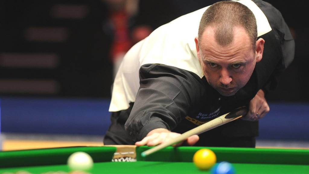 Snooker player Mark Williams