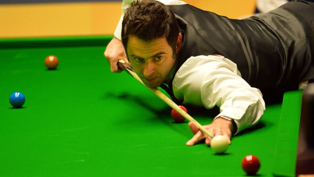 Ronnie O'Sullivan at World Championships 2013