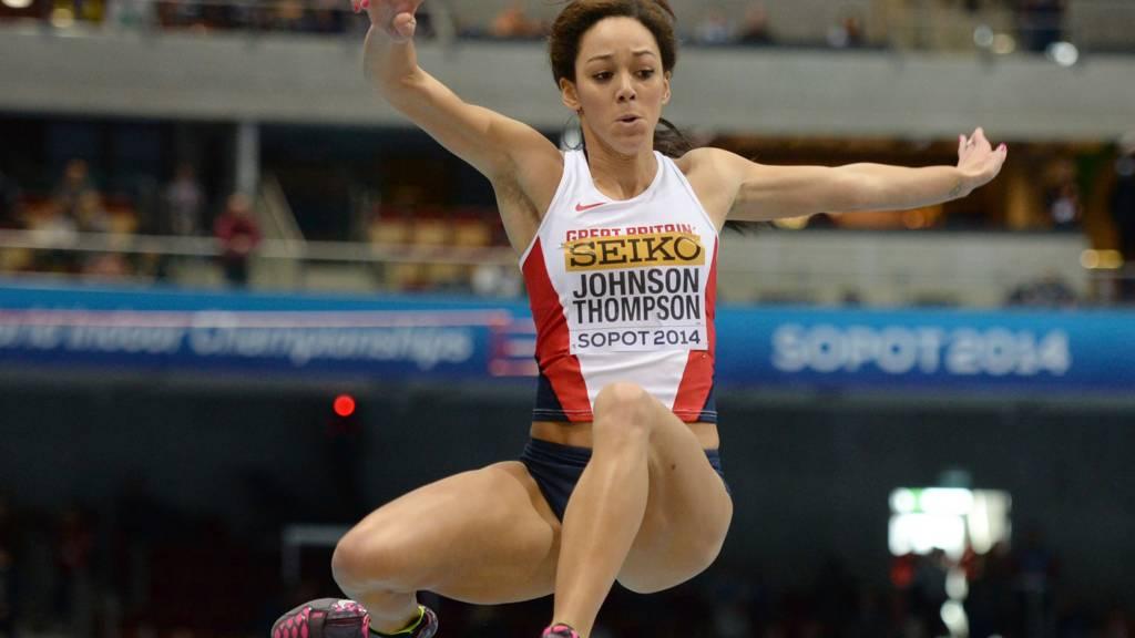 British athlete Katarina Johnson-Thompson
