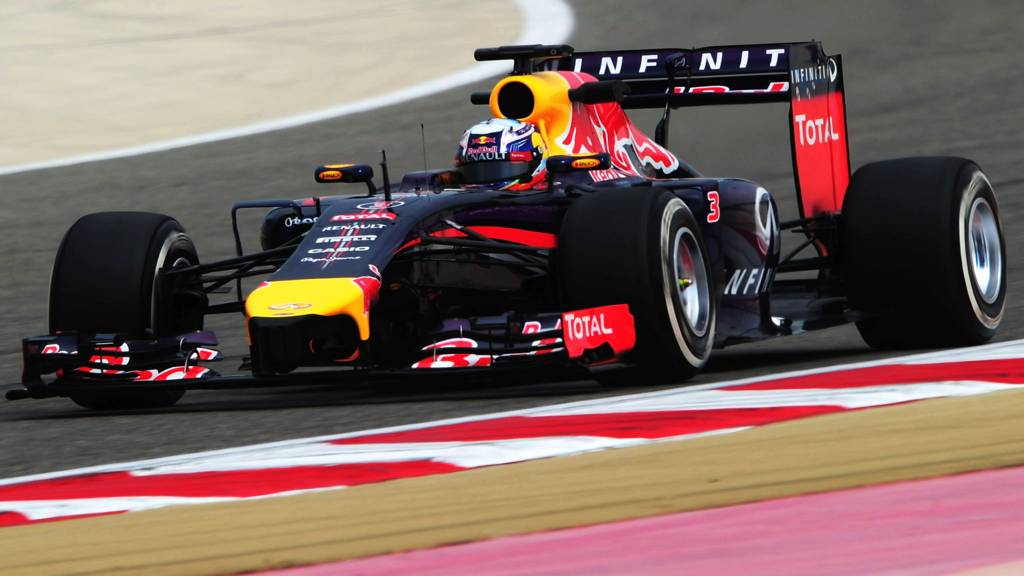 Sebastian Vettel of Red Bull
