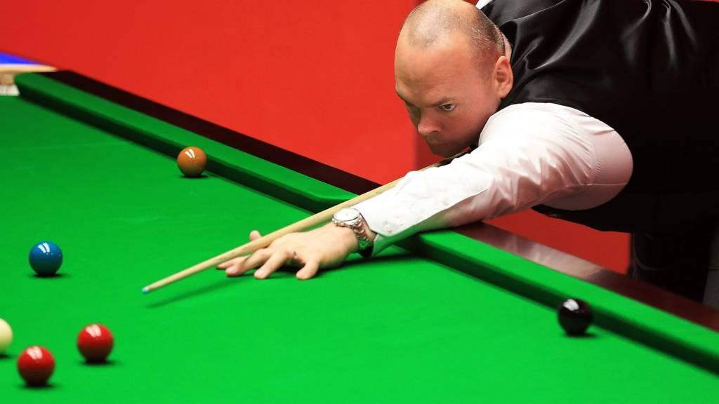 Stuart Bingham at the World Snooker Championship 2014