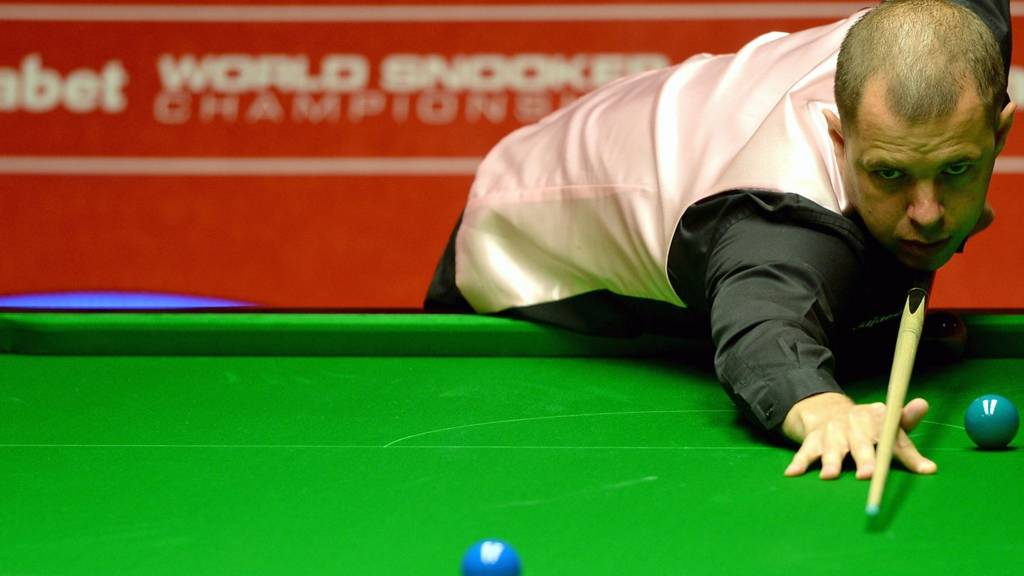 Barry Hawkins at the World Snooker Championship 2014