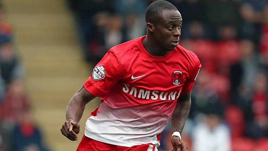 Moses Odubajo of Leyton Orient